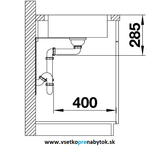 blanco nerezov drez lantos xl 6 s if compact. Black Bedroom Furniture Sets. Home Design Ideas