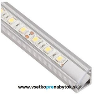 LED profil StarLine Micro - rohový 30/60°